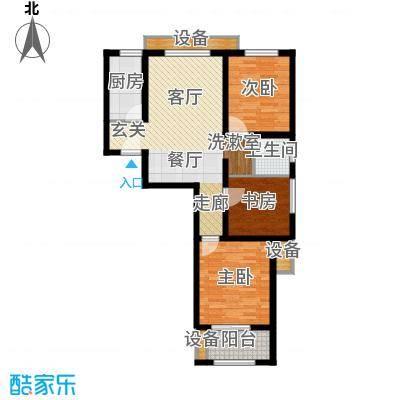 西溪诚园1号楼标准层C2户型