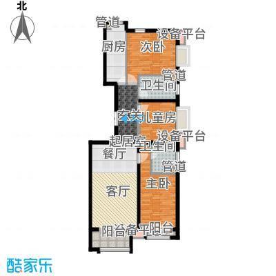 鹭港小区501#楼A-1户型