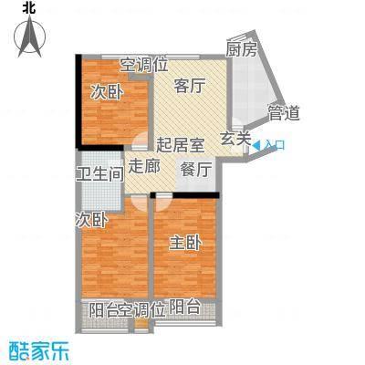 嘉润蓝湾F'户型