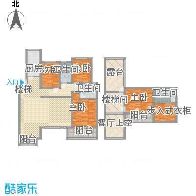 国大全城188.47㎡11、12号楼上跃面积18847m户型