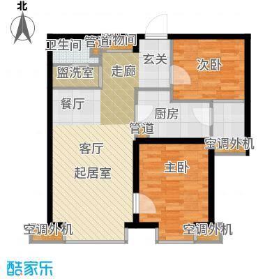 中基礼域89.96㎡22#楼-面积8996m户型