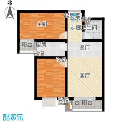 馨港郦景1号楼B户型