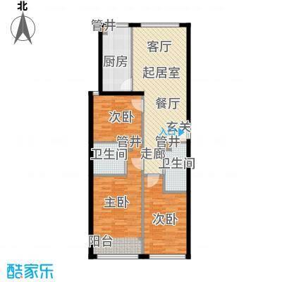凤城国际广场板楼C户型
