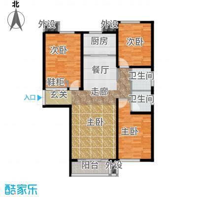 御水蓝庭3号楼H户型