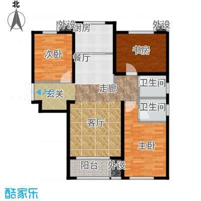 御水蓝庭1号楼A户型