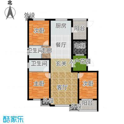 御水蓝庭5号楼J户型