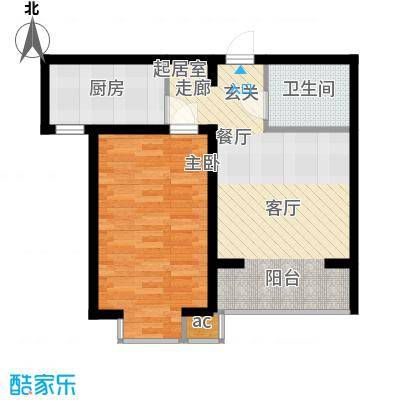 高新香江岸D2户型