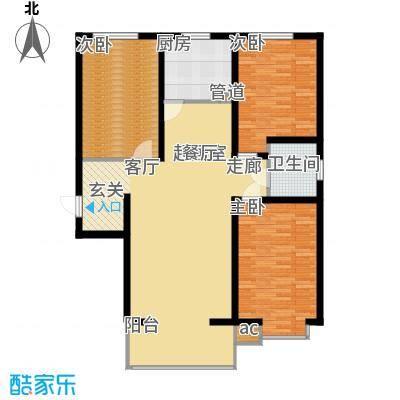 高新香江岸A2户型