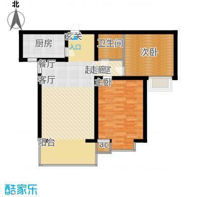 高新香江岸B2户型