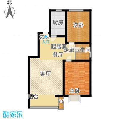 高新香江岸C2户型