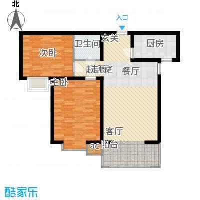 高新香江岸B1户型