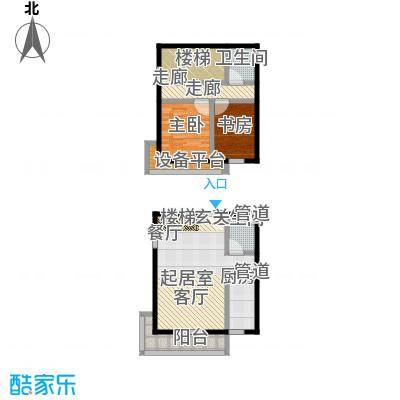 东润财智公馆C座104户型