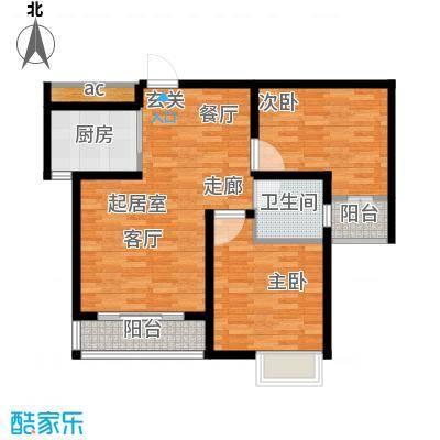 玫瑰湾5号楼2单元B2室户型