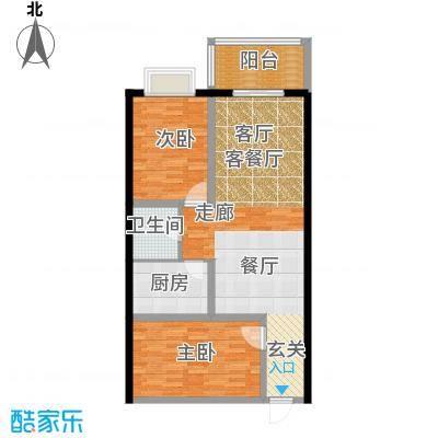 龙洲新城2号楼-1-12户型