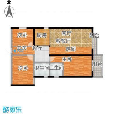 龙洲新城1号楼-1-05户型