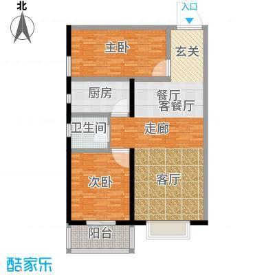 龙洲新城2号楼-1-08户型