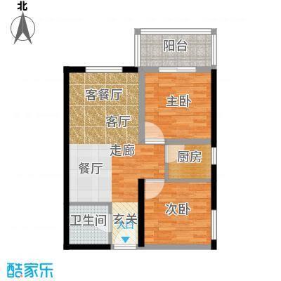 龙洲新城8号楼-1-06户型