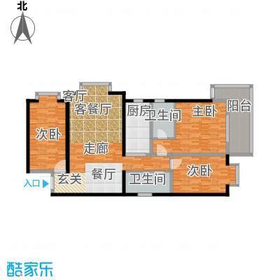 龙洲新城1号楼-1-02户型