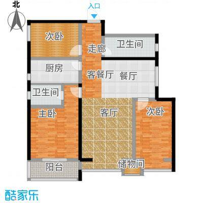 龙洲新城4号楼-1-04户型