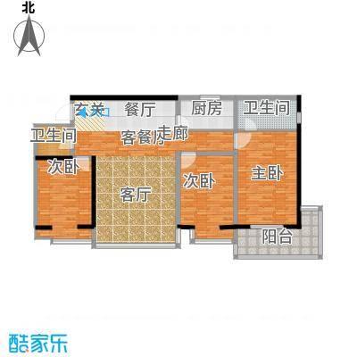 龙洲新城1号楼-1-06户型