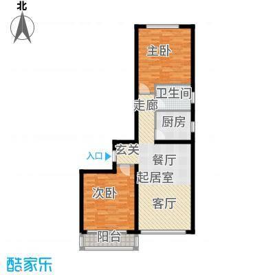 龙海南苑5号楼1-01户型