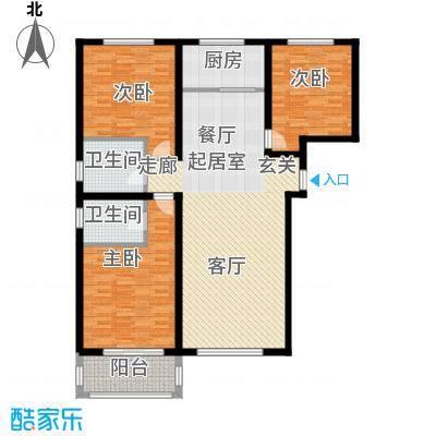 龙海南苑7号楼2-04户型