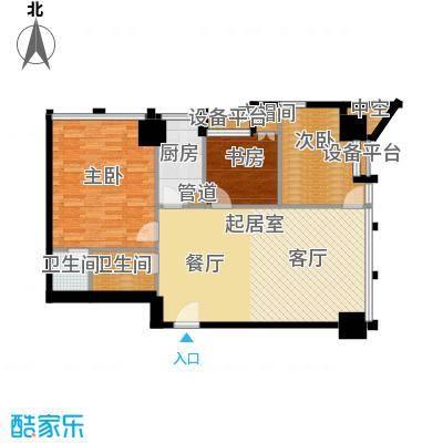 中基国际公馆25号楼E-02户型