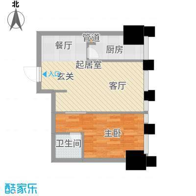 中基国际公馆25号楼f户型