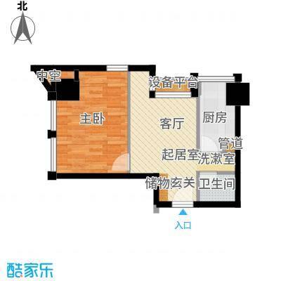 中基国际公馆23号楼B-02户型
