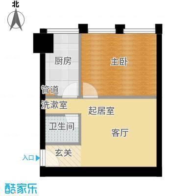 中基国际公馆23号楼C-02户型