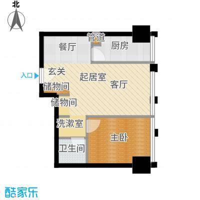 中基国际公馆25号楼F-02户型