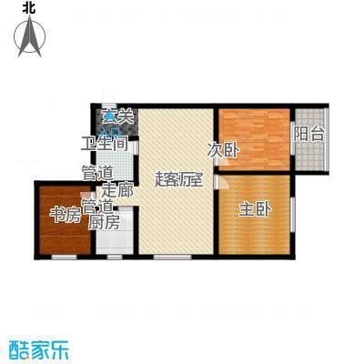 置嘉公寓112.00㎡3-面积11200m户型