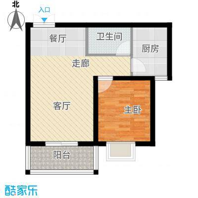 西部枫景傲城11、12号楼标准层户型
