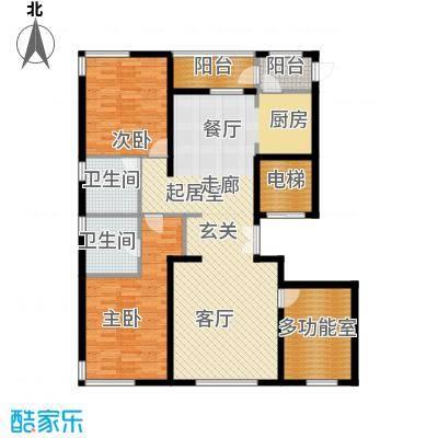 中央悦城C1户型