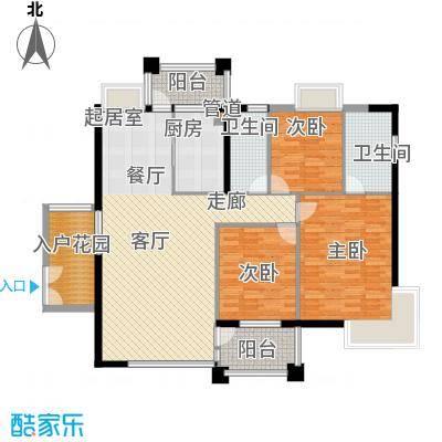 中核缇香名苑中核・缇香名苑14户型
