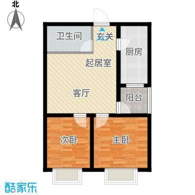塔元庄园滹沱半岛8号楼B户型
