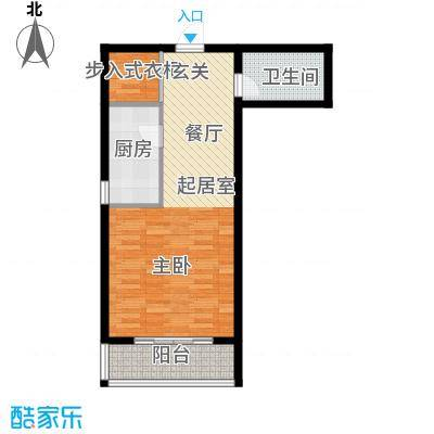 塔元庄园滹沱半岛4号楼B户型