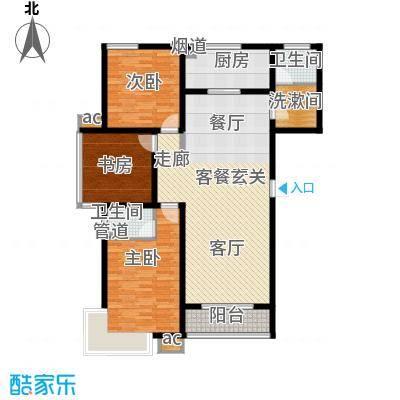 滨河雅园2、3号楼A户型
