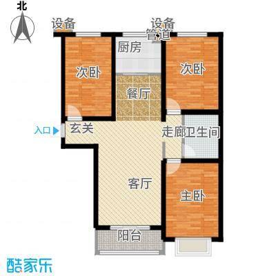 金城新天地19#楼T5户型