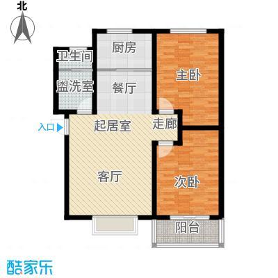 塔元庄园滹沱半岛8号楼A户型