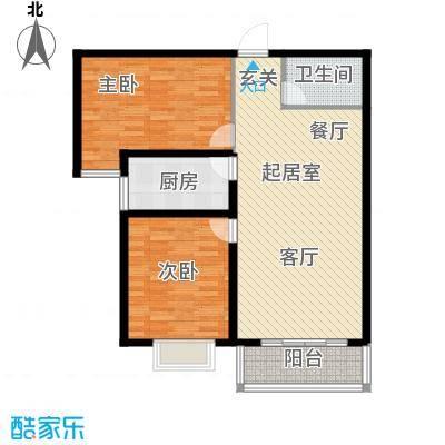 塔元庄园滹沱半岛8号楼C户型