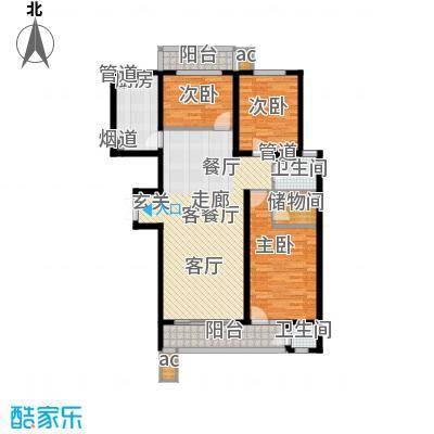 滨河雅园7号楼C户型
