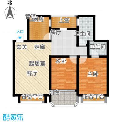 华府名邸95.00㎡面积9500m户型