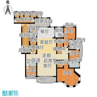 天阳御珑湾9号楼C豪华四居户型