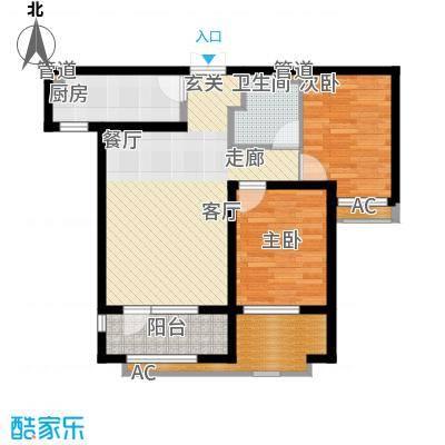 雍雅锦江F户型