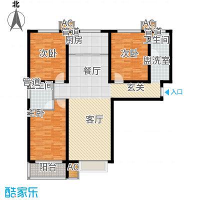 紫金蓝湾B5-A1户型