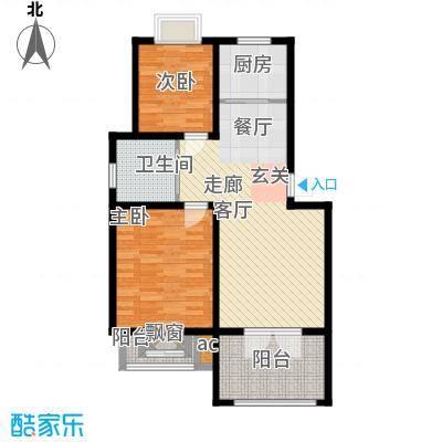 藏龙镇E1户型