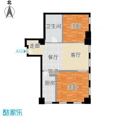 中宏汇景国际115.00㎡东塔B面积11500m户型