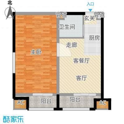 乐城半岛83.00㎡公寓19面积8300m户型