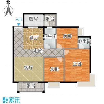 东门壹号公馆129.60㎡东门・壹号公馆B户型